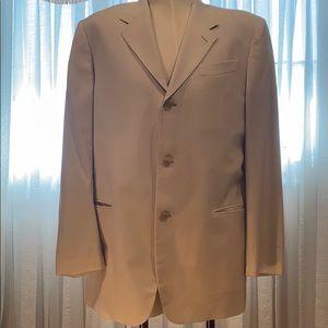 Donna Karan elegant blazer, light beige, 42R